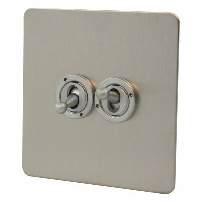 Seamless  Satin Stainless   Sockets & Switches