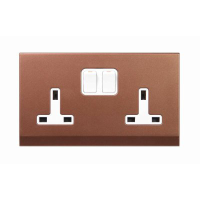 RetroTouch Simplicity  Copper Bronze   Sockets & Switches