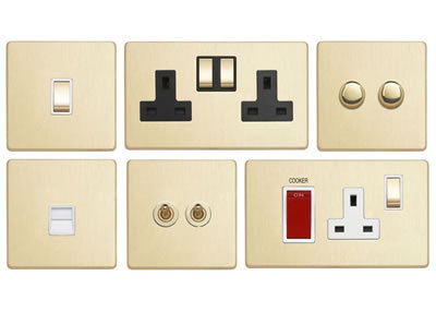 Brushed Brass Light Switches: Our NEW Tablet & Mobile Charging Socket Range,Lighting