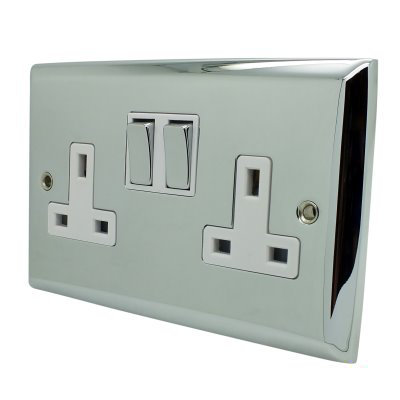 Vogue  Polished Chrome   Sockets & Switches