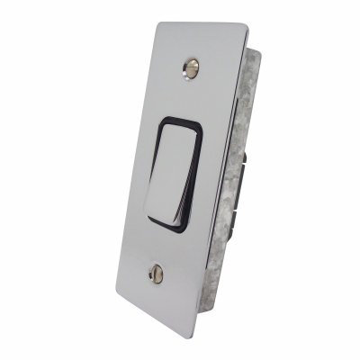 Ultra Square Polished Chrome Ultra Square Architrave Switches