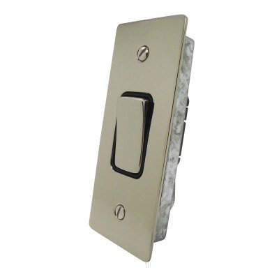 Ultra Square Polished Nickel Ultra Square Architrave Switches