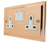Polished Copper Sockets and Switches